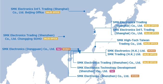 smk trading Co. Ltd. korea dél-korea
